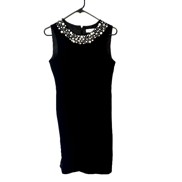 Calvin Klein Pearl Sheath Party Dress 6