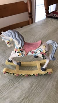 "Ceramic Decorative Horse-6"" Tall Mobile, 36695"
