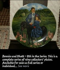 bonnie and rhett decorative plate Allentown, 18104