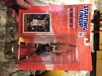1997 NBA Heat Alonzo Mourning Starting Lineup Figure Collectible