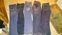 three pairs of blue jeans Carson City, 89706