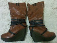 Brown boots  $30 or best offer