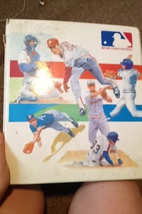 Old baseball binder w/ spare slots Guelph, N1H 8C2