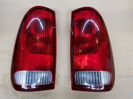 Tail lights,  2001 Ford F250