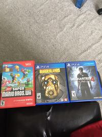 PS4/ Wii Games