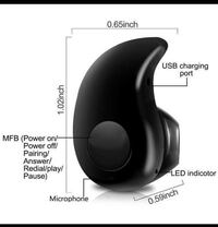 MINI WIRELESS BLUETOOTH HANDSFREE EARPHONE FOR IPHONE AND ANDROID NEW Victoria