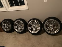 BMW M PERORMANCE RIMS WITH ALL TIRES  Manassas, 20110