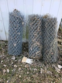 Chain link fence  with poles and post Des Moines, 50317