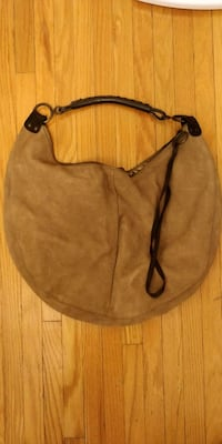 Tan gap hobo bag