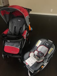 baby's black and red travel system Norwalk, 90650