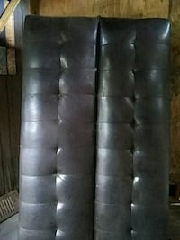 black leather tufted chaise lounge Lubbock, 79412