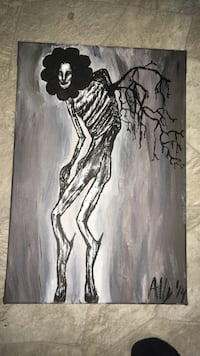 Original painting on stretched canvas  429 mi