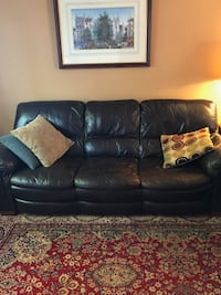 Two Couches - Dark brown leather  Edmonds, 98020