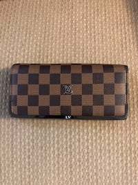 Damier Ebene Louis Vuitton leather wallet Rockville, 20852