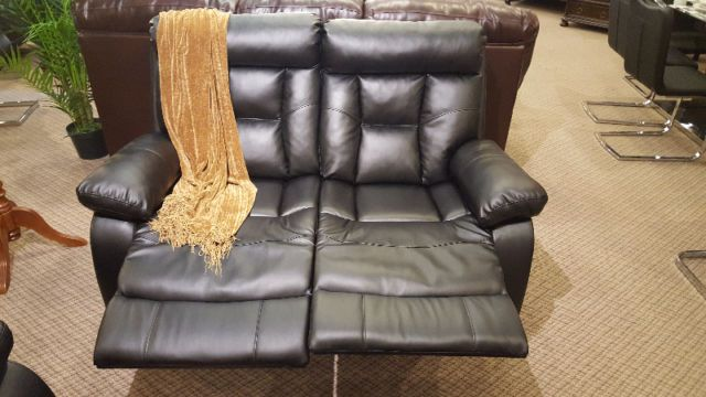 black leather double recliner chair : double recliner chair - lorbestier.org