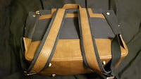 grey /brown diaper bag  EDMONTON