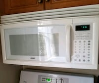 white kenmore spaces saver microwave oven White Plains, 10605