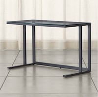 Glass top desk with metal frame Alexandria, 22304