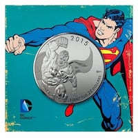 2015 Canada $20 - DC Comics Superman - 0.9999 Fine Silver Coin