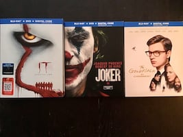 IT Chapter two,Joker,The Goldfinch . All brand new sealed