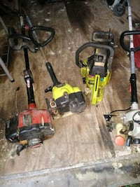 3 weedeaters one chainsaw and one blower Corpus Christi, 78415
