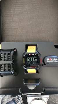 Polar RC3 GPS Tour De France edt klokke