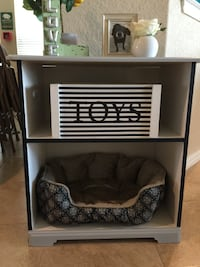 Repurposed Cabinet into a Pet Bed New Braunfels