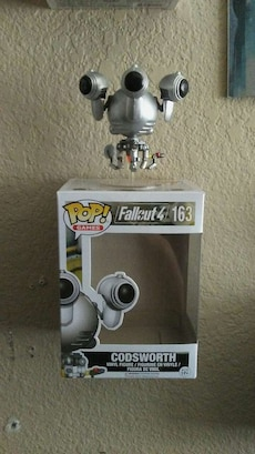 Fallout Codsworth Pop Figure