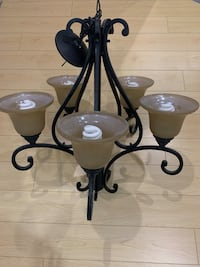 Wrought Iron Chandelier Vaughan, L6A 4K6