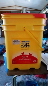 EMPTY TIDY CATS CONTAINERS
