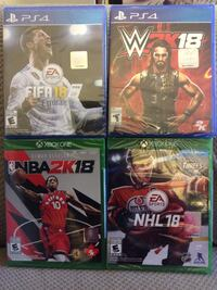 PS4 & XBOX ONE Games for SALE!!