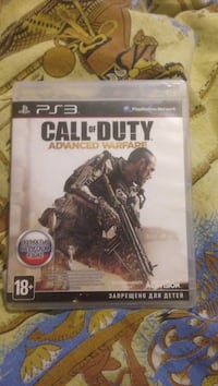 Call of duty advanced warfare ps3 игровой футляр