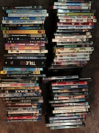50 + DVDs and Blue Rays  Toronto, M5J