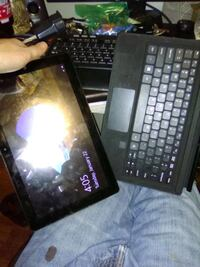 black tablet computer with keyboard Wichita, 67202