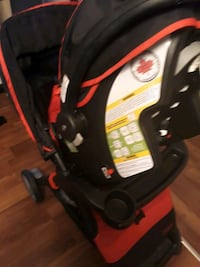black and red car seat carrier Toronto, M1G