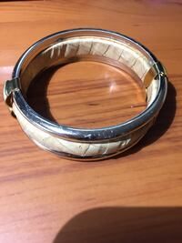 Ladies Leather Bracelet with gold accents Ottawa, K0A 1L0
