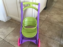 DOLL STROLLER NEW CONDITION