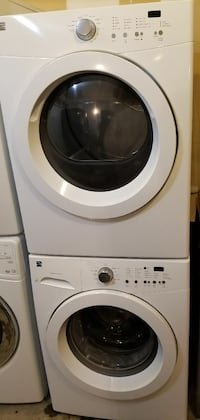 Kenmore series stackable washer and dryer