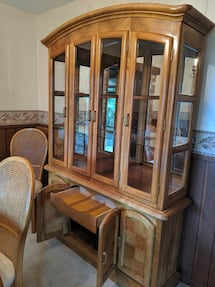 In Chilliwack- Solid Wood Hutch