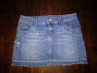 (SIZE 3) JUNIORS STYLISH DENIM MINI SKIRT North Charleston
