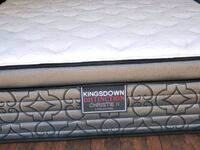 Luxury queen mattress extra thick Euro pillowtop d Edmonton, T5A 4H3