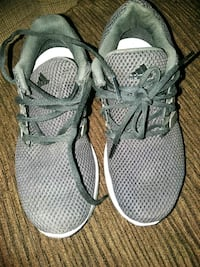 pair of gray Nike running shoes Cathedral City, 92234