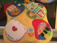 Fisher price laugh and learn music table Arlington, 22201