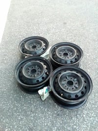 black 5-lug auto-wheel set