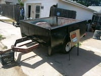 black and gray utility trailer Lubbock, 79411