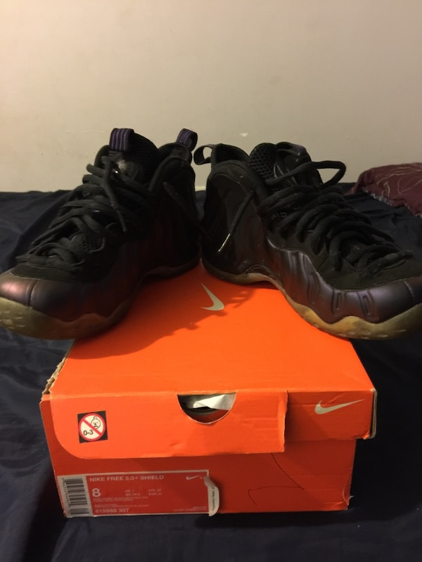 ec7ad079d97 Used Nike air foamposites penny hardaway eggplants for sale in Paterson -  letgo