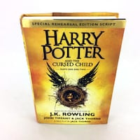 Harry Potter And The Cursed Child Book Special Rehearsal Edition Script 1st/1st Port Colborne