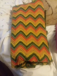 yellow, green, and red chevron tube dress West Memphis, 72301