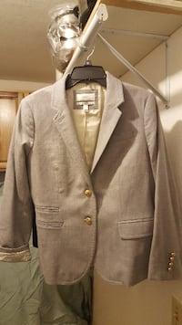 Ladies Grey Jacket, JCrew
