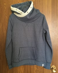 gray and white pullover hoodie Red Deer, T4P 1W3